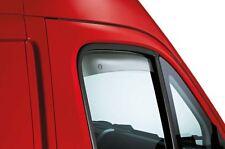Fiat Ducato Van & Motor Home 2006> Pair of Front Door Wind Defectors 50901494