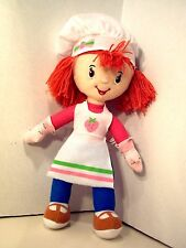 "KELLYTOY Strawberry Shortcake Collector Stuffed Doll Plush Soft Toy 15"" 2008"