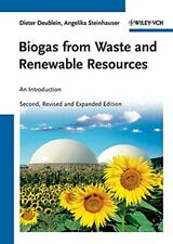 Biogas from Waste and Renewable Resources: A... by Steinhauser, Angelik Hardback