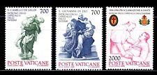 VATICANO 1986 797/99 SAN JUAN DE DIOS.CAMILO DE LELLI