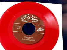 VOCALEERS~ AMGEL FACE~ RED WAX~ MINT~ LOVIN BABY~ RED ROBIN~ DOO WOP 45