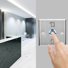 Touch sensor Door Exit push Release Open Button Switch Wiht LED Light  NO NC COM