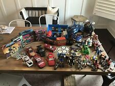 Vintage 80s + More Toy Lot Transformers MOTU View Master Power Rangers X-Men ++