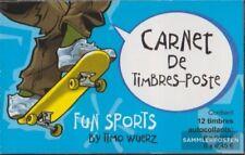 Luxemburg 1564-1569MH (compleet.Kwestie.) Brochures gestempeld 2002 Funsport