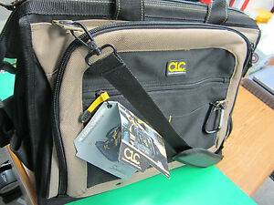 """CLC CUSTOM LEATHER CRAFT 18"""" MULTI-COMPARTMENT TOOL CARRIER, BRAND NEW,FAST SHIP"""