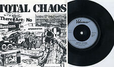 "Total Chaos (UK) - There Are No Russians... 7"" 1982 VOLUME PRESS Newcastle Punk"