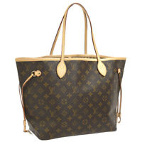 LOUIS VUITTON NEVERFULL MM SHOULDER TOTE BAG MONOGRAM M40156 AK31483f