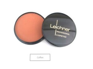 Leichner Finishing Touch Face Pressed Powder Creme Puff  shade Coffee