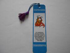 Garfield Capricorn Vintage Bookmark 1978
