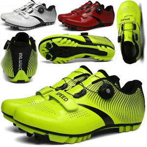 Men Professional Mountain Cycling Shoes SPD Cleat Racing Bicycle Sneaker Peloton