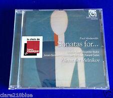 NEW SEALED Paul Hindemith Sonatas for CD 2015 Alexander Melnikov Faust Rudin