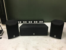 Yamaha NS-AP6500S Satellite Mini Bookshelf & Center Channel Surround Speakers