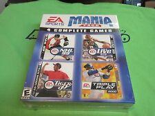 EA SPORTS MANIA PACK 4 Games TIGER WOODS GOLF PGA NHL NBA BASEBALL Win 95/98