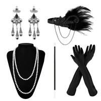 5x dames gatsby flapper années 1920 costume Charleston accessoires casque BR