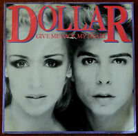 "Dollar ‎– Give Me Back My Heart 7"" – BUCK 3 – VG+"