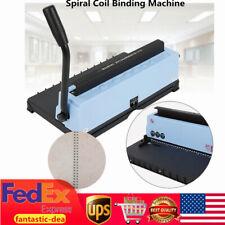 34 Hole Binding Machine Paper Punch Binder Spiral Coil Calendar Binding Machine