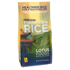 Lotus Foods Heirloom Forbidden Rice 15 oz Pkg