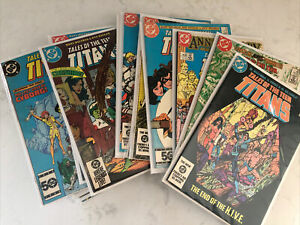 Well Cared For Lot Of 1980s 90s Vintage TEEN TITANS DC Comics