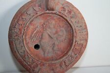 ANCIENT ROMAN POTTERY VICTORY OIL LAMP 1st CENTURY AD