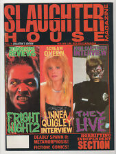 SLAUGHTER HOUSE #1 - #5 Set Jason Freddy Nightbreed They Live Horror Magazines