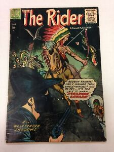 The Rider #1 March 1957 Western Farrell Publication