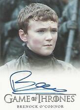 """Game of Thrones Season 6 - Brenock O'Connor """"Olly"""" Autograph Card"""