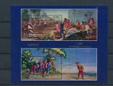 LM96917 Spain tapestries art good sheet MNH
