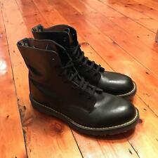 Vintage Dr Doc Martens Tredair 1460 8 Hole Boots Size 9 Made in England Punk Alt