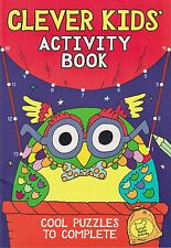 The Clever Kids' Activity Book by Chris Dickason (Paperback, 2015)