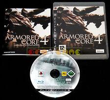 ARMORED CORE 4 Ps3 Versione Ufficiale Italiana 1ª Edizione ••••• COMPLETO