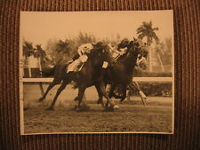 Gulf Stream Park 1st Thoroughbred Horse Race of the Day 3/1/1958 Original Photo