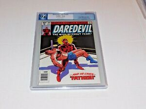 DAREDEVIL #164 PGX Like CGC 9.6 NM+ Origin Daredevil White Pages Frank Miller