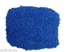 Hi fish aquarium water Blue color sand gravel 2kg stone pebbles chips decoration