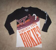 Virginia Tech Hokies Long Sleeve Graphic T-Shirt Size XL New VT FREE SHIP
