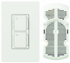 Lutron Ma-lfqhw-wh Maestro 300w Touch Dimmer Fan Control Kit