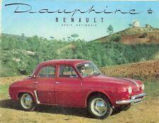 Renault Dauphine 1956 UK Market Small Format Foldout Sales Brochure