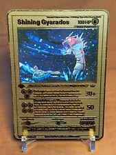 ☆☆☆ Pokemon 1st Edition SHINING GYARADOS métal gold carte English ☆☆☆