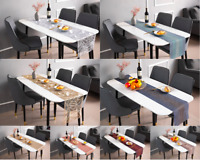 Table Runner Table Placemat PVC Insulation Tableware Decorations Aus Stock