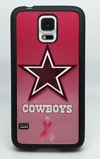 DALLAS COWBOYS PINK PHONE CASE FOR SAMSUNG NOTE & GALAXY S3 S4 S5 S6 S7 EDGE S8