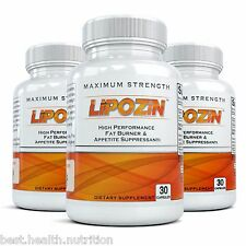 3/LIPOZIN BEST Weight Loss Slimming Fat Burning Hoodia Diet Pills lose quickly