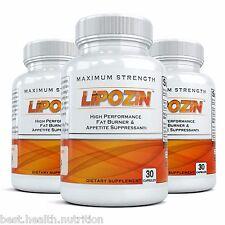 3/LIPOZIN BEST Weight Loss Slimming Fat Burning Hoodia Diet Pills lose quickly