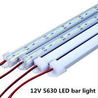 10pcs 50CM 12V 36led SMD 5630 Bar Rigid LED Light U Aluminum Shell + PC Cover