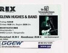 GLENN HUGHES Used Ticket Lorsch 16.05.2008 (Deep Purple, Black Sabbath)