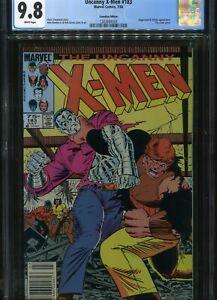 Uncanny X-men #183 CGC 9.8 Canadian price variant  7/84 Marvel comics