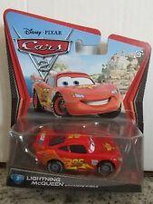 Cars 2 Disney pixar Lightning McQueen With Racing Wheels #3 Mattel