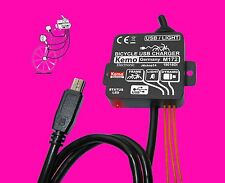 NEU! NAVI MP3 MP4 PDA FAHRRAD LADEREGLER LADEREGLER USB MINI-B + MICRO-ADAPTER