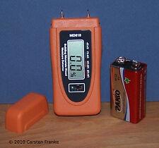Digital Wood Moisture Meter Damp Wall Tester Home Inspection Measurement Tool 18