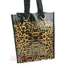 New Fashion Waterproof Reusable Eco Bag Leopard Tote Shopping Beach Storage Bags