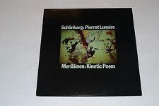 Schonberg: Pierrot Lunaire~Merilainen: Kinetic Poem~SALP-4~FAST SHIPPING!!