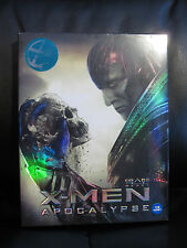 X-Men Apocalypse 3D Kimchidvd Exclusive Blu-Ray Steelbook Full Slip New Marvel